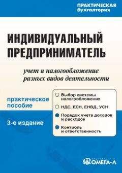 Антонина Вислова - Индивидуальный предприниматель: учет и налогообложение разных видов деятельности
