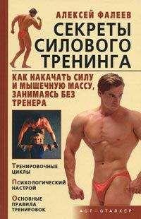 Алексей Фалеев - Секреты силового тренинга. Как накачать силу и мышечную массу, занимаясь без тренера?
