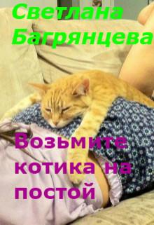 Возьмите котика на постой (СИ) - Багрянцева Светлана